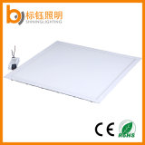 600 * 600 mm SMD 48W plana de aluminio de techo ultrafina LED luz del panel