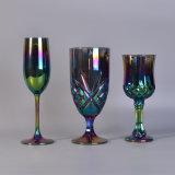 vino di vetro elettrolitico Champagne del gambo dello ione 6oz per la fabbricazione della candela