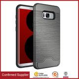Super Armor ranura para tarjeta Kickstand teléfono caso para Samsung S8