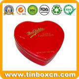 食糧金属のための中心チョコレート錫ボックスはでき包む