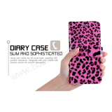 do leopardo de couro da tampa do protetor do iPhone 7 caixa Handmade do telefone da carteira