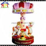 carosello di giro del Kiddie dei bambini del Merry-Go-Round del cavallo di fantasia 3p