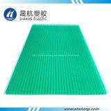 6mm het Groene Holle Blad van het Polycarbonaat van de tweeling-Muur met SGS