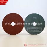 115mm Zirconia y disco de fibra de óxido de aluminio para acero inoxidable