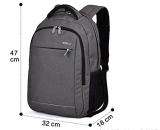 Saco de escola ao ar livre do saco do curso dobro da trouxa do saco de ombros