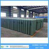 ISO9809 40L 150bar 219mm Diâmetro Cilindro de gás industrial de alta pressão