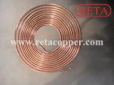 ASTM B88 Abkühlung-Kupfer-Pfannkuchen-Rohr