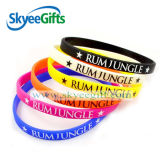 L'abitudine fa il Wristband/braccialetto del silicone al prezzo di fabbrica