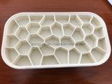 Домодельная прессформа кубика льда пластмассы/силикона платины/коробка кубика льда контейнера кубика льда