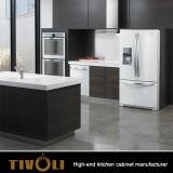 Мебель кухни Veneer роскошной конструкции кухни мебели дома способа естественная деревянная (AP046)