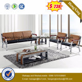 Горячая продажа офисной мебели из тикового дерева PU кожаный диван (HX-CS096)