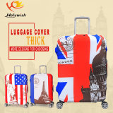 Cubierta colorida a prueba de choques protectora del equipaje con talla de S/M/L/XL