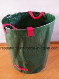 Finca o jardín, el transporte de sacos de fertilizante