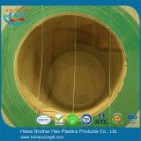 Industrielles Gefriermaschine-Grün-Nylongewinde-Vinylstreifen-Tür-Vorhang-Installationssätze