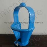 Protezioni superiori del ghisa & dell'acciaio per le bombole per gas