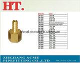 Ajustage de précision de pipe en laiton d'adaptateur de picot de boyau (1/2*1/4)