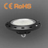 保証5年のの100/150/200W IP65 130lm/W Highbayライト