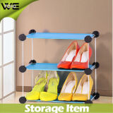 Wohnzimmer-Möbel-Organisatoren imprägniern Plastikschuh-Schrank