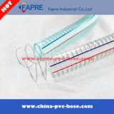 Tuyau en plastique PVC renforcé / Tuyau de jardin / tuyau d'air / tuyau d'eau / tuyau de gaz avec Ce