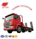 4X2 lit basse camion avec 700mm de longueur Rampe arrière