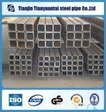 tubo de acero negro rectangular cuadrado del tubo de acero de 38X38m m ERW