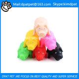 Kauen des Naturkautschuk-Hamburger-Spielzeugs für Haustiere