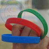 Freies Beispielgummihandband-Silikon-Handgelenk-Klaps-Armband