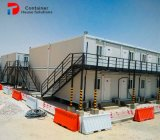 Casa pré-fabricada de quadro do recipiente do fornecedor de China