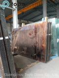 セリウム、ISO (C-P)が付いているピンクによって染められるフロートガラス