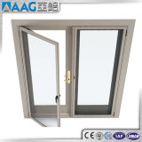 Portes thermiques en aluminium de tissu pour rideaux d'interruption de double vitrage