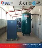 Southtech pasando la producción de vidrio templado con sistema de horno de convección forzada (TPG-un series)