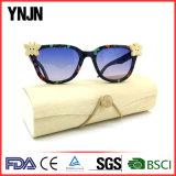 2017 Nouveaux produits faite à la main Denim Lunettes de soleil (Unisexe YJ-30002)
