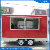 Carro móvil de encargo del alimento de Shangai Yieson