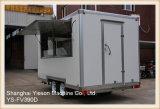 Carro móvil blanco del alimento de Ys-Fv390d los 3.9m para la venta Australia