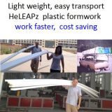 Garten-Bürgersteig-Plastikverschalung-Arbeit schneller, Kosten weniger, Leichtgewichtler, mehrfachverwendbar