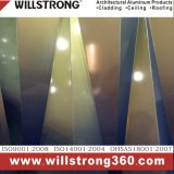 Panneau composé en aluminium à haute brillance de mur de panneau