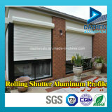 Profil personnalisé d'aluminium de l'aluminium 6063 de taille pour le guichet de porte d'obturateur de rouleau