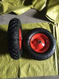 압축 공기를 넣은 외바퀴 손수레 고무 바퀴