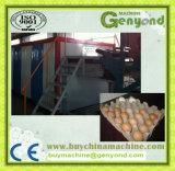 Das Ei-Tellersegment beenden, das Maschine herstellt