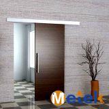 Sistema de hardware de aluminio elegante de puerta de granero