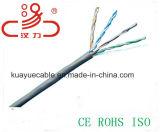 Cavo dell'audio del connettore di cavo di comunicazione di cavo di dati del cavo della prova 305m/Computer della passera del passaggio del cavo di lan di UTP Cat5e 24AWG