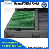 Koop Kleinhandels Unbuffered 256mbx8 8bits DDR3 4GB RAM 240 Speld