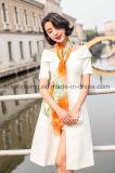 Fabrik kundenspezifischer Digital gedruckter Silk Chiffon- Schal für Damen