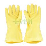 Haushalts-Latex-Handschuhgummireinigung Handschuh-Latex-Küche-Handschuhe, die Handschuhe Arbeits sind