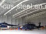 Hangar prefabricado de los aviones/hangar de acero de los aviones de Strcuture