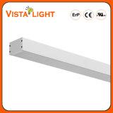 Extrusion en aluminium 100-277V Pendentif Luminaires linéaires à LED
