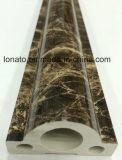 Espuma de mármol al por mayor de la cornisa de la decoración del PVC del color que moldea de China