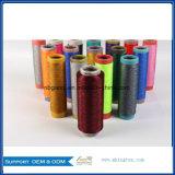 Dope Tingidos de cores de fios de poliésteres DTY 75D/36f preço de fábrica