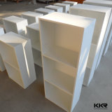 Superficie sólida piedra personalizada Kingkonree baño estantes de pared