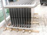 化学廃水の熱回復熱交換器